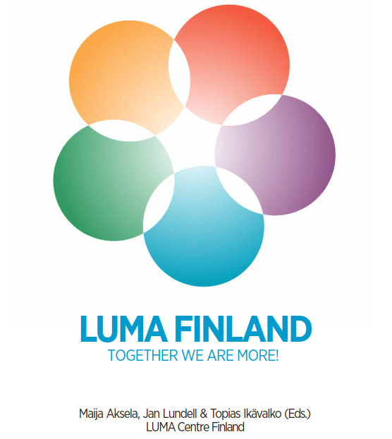 LUMA-finland book cover