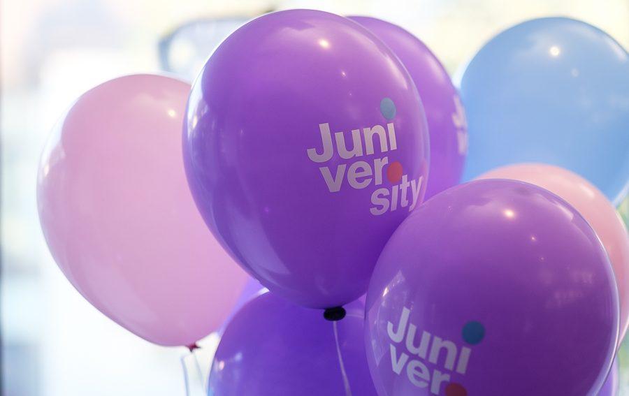 Juniversity-ilmapalloja.