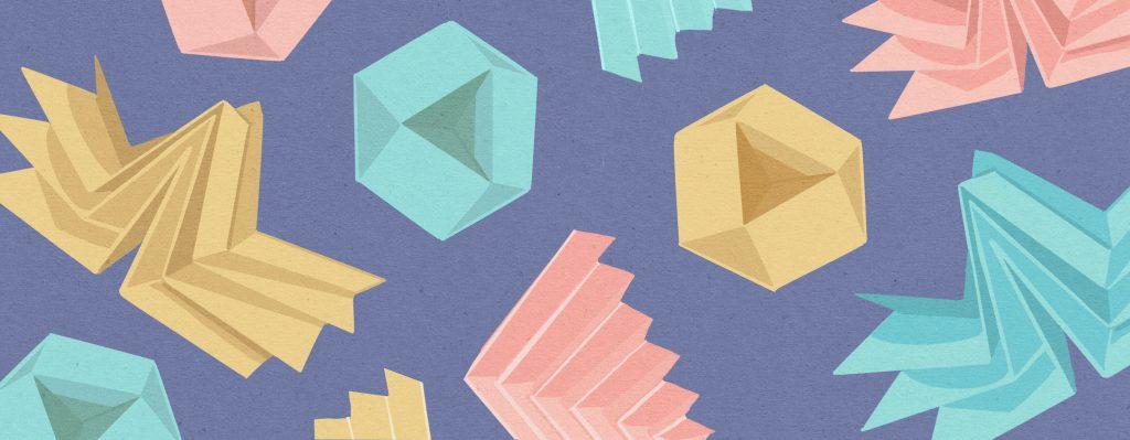 origameja (kuvituskuva)