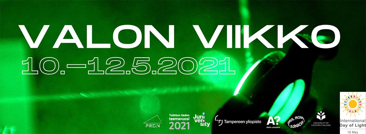 Valon viikko järjestetään 10.-12.5.2021.